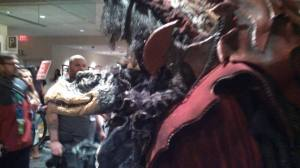 This awesome Skeksis was in the Friday Night Costume Contest