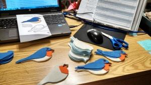 Making Eastern Bluebirds