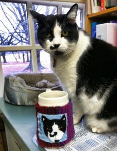 mug and model
