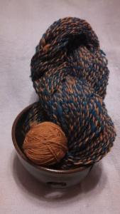 The finished 2-ply - approximately 284 yards!