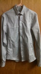 Finished shirt, sans final ironing